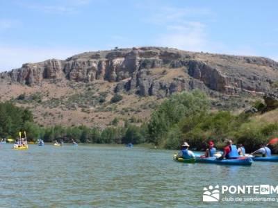 RUTA DE PIRAGÜISMO EN CANOA Y PIRAGÜA - HOCES DEL RÍO DURATÓN; viajes de la comunidad de madrid